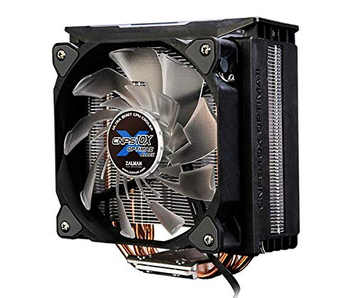 ZALMAN CNPS10X Optima II Schwarz, Intel 9th Gen, AMD Ryzen kompatibel, Spectrum RGB LED Beleuchtungseffekt, Dual Blade Fan