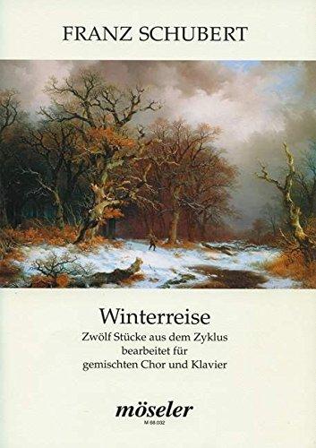 Winterreise op. 89 D 911 - Book.
