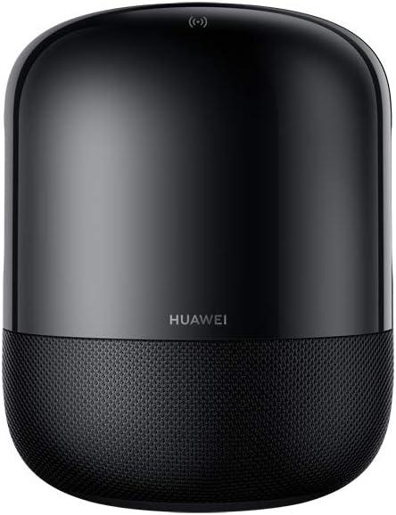 HUAWEI Sound, Home Speaker Hi-Fi Wireless, Design Acustico con 4 Altoparlanti Devialet, Devialet SPACE Soundstage, Suono surround a 360°, Audio Certificato High-Res, HUAWEI Share, Black