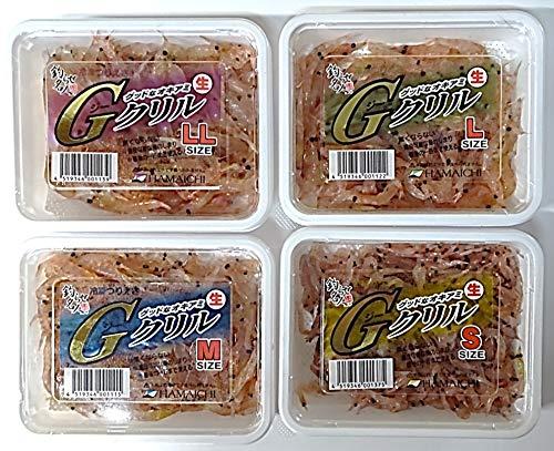 ハマイチ Gクリル LL/L/M/S 冷凍サシエサ オキアミ (LLサイズ)
