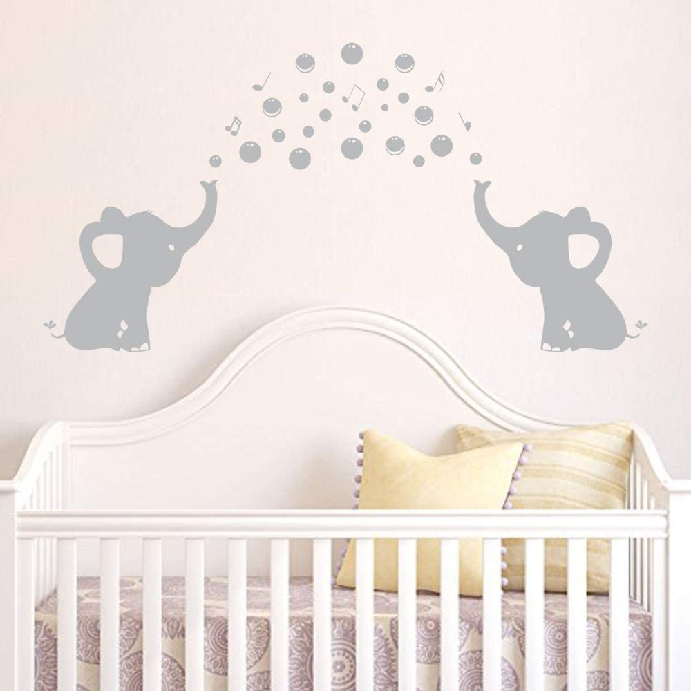 rta220  Family Elephants Animal Safari Mom Dad and baby Nursery gift kids Chirdren  Wall Decal Vinyl Decor Sticker Bedroom