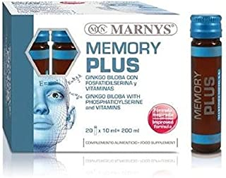 Memory Plus 20 ampollas de 10 ml de Marny's