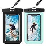 [2 Pack] JOTO Waterproof Phone Pouch Case, IPX8 Underwater