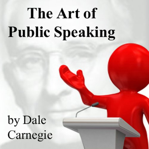 The Art of Public Speaking audiobook cover art