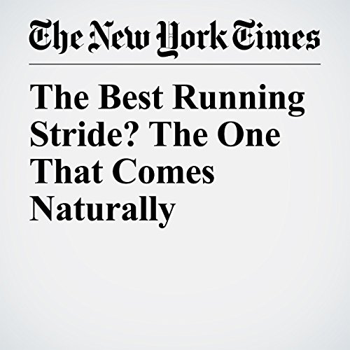 The Best Running Stride? The One That Comes Naturally copertina