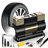 WOLFBOX Portable Air Compressor for Car Tires, Air Compressor Tire...
