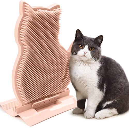 Idepet Spazzola per Massaggio per Gatti (Rosa)