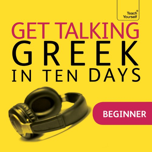 Couverture de Get Talking Greek in Ten Days
