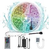 Ridasmartcom LED Strip Lights 5 Metre 300 LED Colour Changing Waterproof Lighting Strip