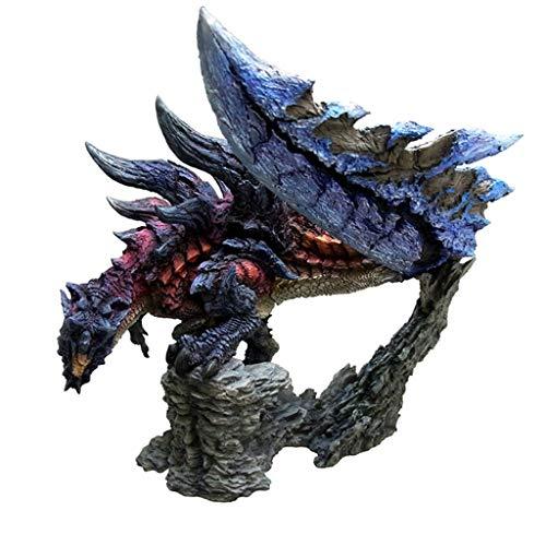 PLL Monster Hunter: Figura de acción Glavenus Modelo Regalo Decoración Estatua Adornos (CFB) Creadores (Sin Caja de Color)