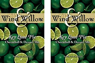 Wind and Willow Sweet Cheeseball and Dessert Mix Key Lime Pie,3.5Ounce, 2 Pack
