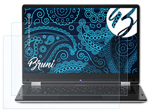 Bruni Schutzfolie kompatibel mit Medion AKOYA E3216 MD60900 Folie, glasklare Bildschirmschutzfolie (2X)