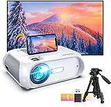 BOMAKER Proyector WiFi, 6500 Lúmenes 1080P Nativo Full HD Proyector Portatil Nativo 720P...