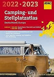 ADAC Camping- und StellplatzAtlas Germany / Europe 2022/2023 - Campsites