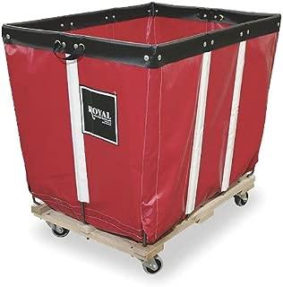 Basket Truck, 6 Bu. Cap., Red, 30 In. L