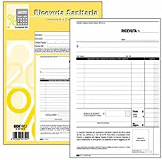 Edipro Blocco Buono di consegna E5196C 9x17 cm 2 copie confezione da 10 BLOCCHI