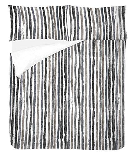 Francis Montesinos Funda Nordica Estampada + 2 Fundas de Almohada. Diseño Exclusivo Suave. 100% Algodón. 150 Hilos. Fabricada en España. Cama 150/160 cm Capri