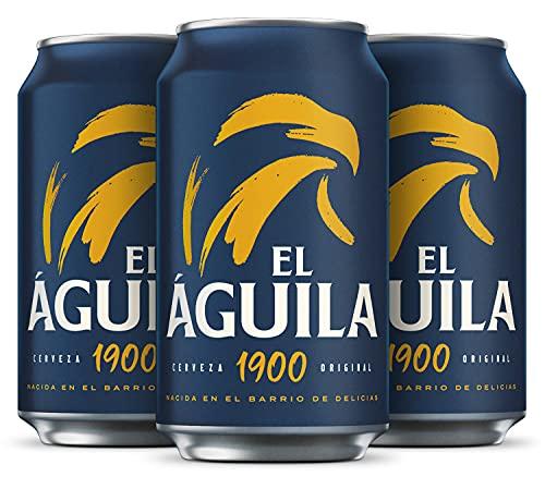 Aguila cerveza especial pack 24 latas 33cl - 7920 ml