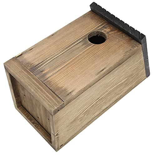 Jopwkuin Birdhouse, Bird Nesting Box Ventilaciones Diseño para Jardines al Aire Libre Aves en el Interior