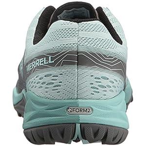 Merrell Women's Siren Hex Q2 E-Mesh Hiking Boot, Bleached Aqua, 9 Medium US