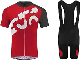 Uglyfrog Men's Cycling Suits Short Sleeve Bike Jersey and Bib Shorts G11