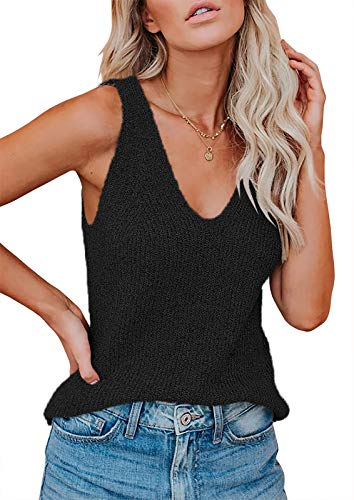Erneut Camiseta de tirantes para mujer, sexy, sin mangas, para verano, con...