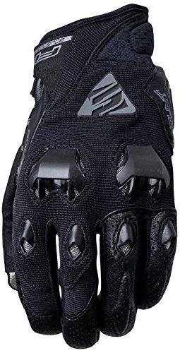 Cinco avanzada guantes Stunt Evo adulto guantes, negro, tamaño 08