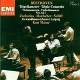 Tripelkonzert / Violinromanzen 1 und 2 - Zacharias