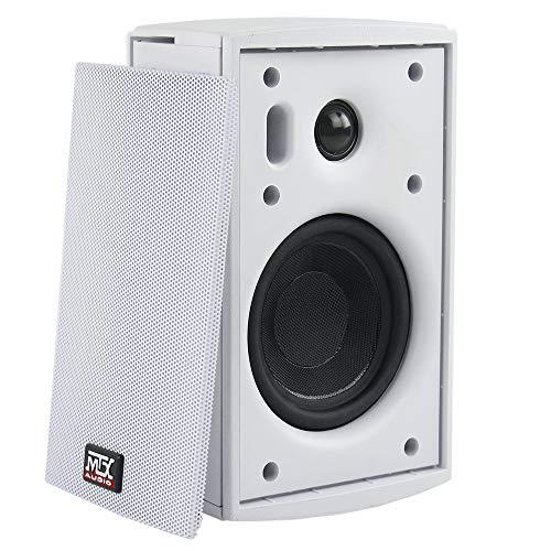 Why Choose 4 50-Watt RMS Surface Mount Multipurpose Speaker - White