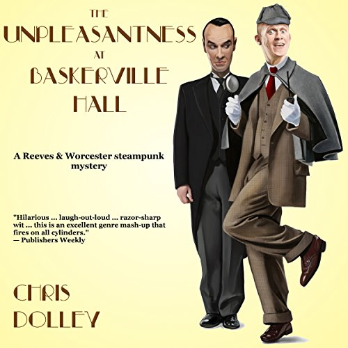 The Unpleasantness at Baskerville Hall audiobook cover art