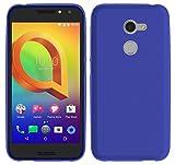 TBOC® Blau Gel TPU Hülle für Vodafone Smart N8 (5.0 Zoll) Ultradünn Flexibel Silikonhülle