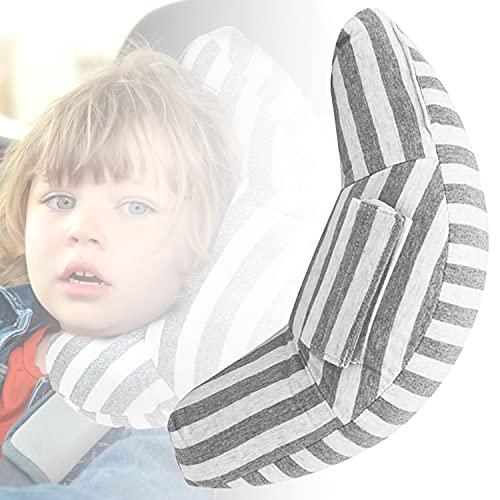 Faffooz Almohada de Cinturón de Seguridad para Niños, Protector Cinturón Seguridad, Almohadillas para Cinturón Coche Seguridad para Apoyar la Cabeza del Cuello Apto para Niños