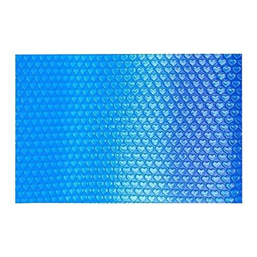 Life up Cobertor Solar para Piscinas - Manta Cubierta Lona Solar Mantas Solares, Piscinas Película Se Utiliza para La Protección De La Temperatura del Agua De Piscinas Rectangular