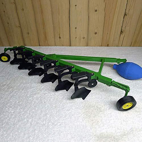 WANGCH 1:16 Ingeniería Vehículo Recierro Agricultura Maquinaria Tractor Accesorios de arado de precisión Simulación de alta precisión Modelo de coche Boutique Colección Juguetes Cumpleaños y regalos d