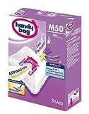 Handy Bag - M50 - 3 Sacs Aspirateurs, pour Aspirateurs Miele, Fermeture Hermétique, Filtre Anti-Allèrgène, Parfum...