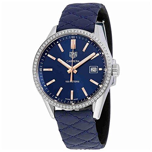 TAG Heuer Carrera Reloj de mujer diamante cuarzo 39mm WAR1114.FC6391