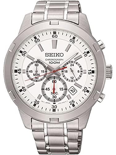 Seiko Reloj Cronógrafo para Hombres de con Correa en Acero Inoxidable SKS601P1