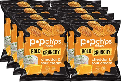 Popchips Ridges Potato Chips Variety Pack 30-Pack Now $8.38