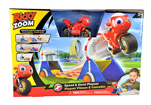 Bizak Ricky Zoom Playset Lanzador Acrobacias (30690049)