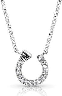 Montana Silversmiths Starlight Horseshoe Nail Necklace