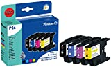 Pelikan 4109972 - Cartucho de tinta Brother MFC-J6510DW - LC1240 - PACK (Negro + colores)