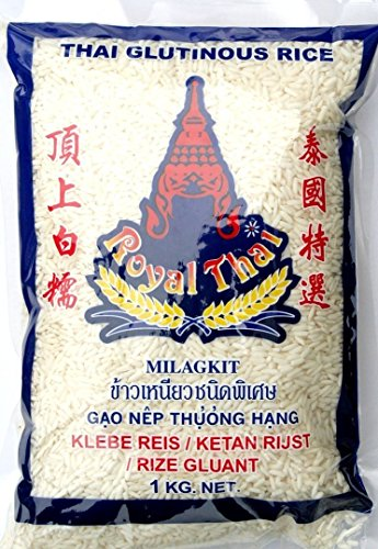 Royal Thai Klebereis (Sticky Rice), 1kg