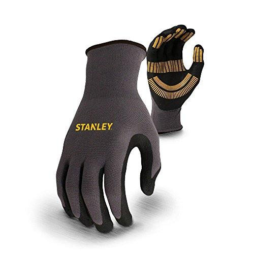 Stanley Unisex Razor Thread Utility Sicherheit Handschuhe (XL) (Schwarz)