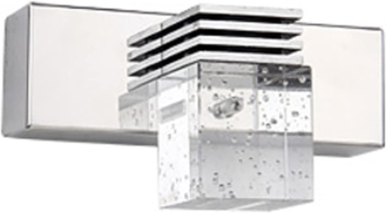 ZYBCQL Crystal Bathroom Vanity lamp LED 3w Wall Max 63% OFF Sconce Daily bargain sale W Modern