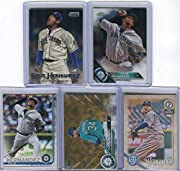5 different Felix Hernandez baseball cards Each card comes protected in toploader All cards are authentic Cards pictured may vary from cards received