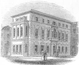 London. The Gresham Clubhouse - 1844 - Old Print - Antique Print - Vintage Print - Printed Prints of London