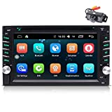 EINCAR Android 9.0 Car Stereo Double Din Head Unit with Bluetooth 6.2'' Touchscreen Car Radio Player GPS Navigation System Free Backup Camera Support WiFi Fast Boot Mirrorlink OBD2 2GB ROM