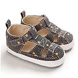 NIDONE Bebé Zapatos de Sandalias Antideslizantes Zapatos Primero Que Caminan los Zapatos de Suela de Verano para 3-6 Mes del niño