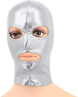 Vimoisa Metallic Cycling Face Neck Mask Hat Ultra Balaclava Hood