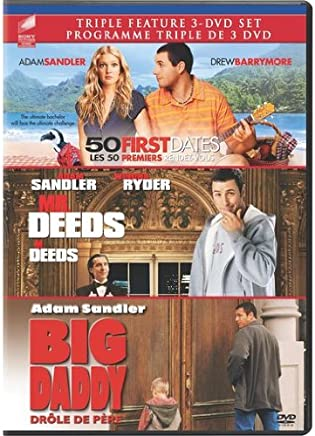Amazon com: 50 First Dates/Mr  Deeds/Big Daddy: Movies & TV